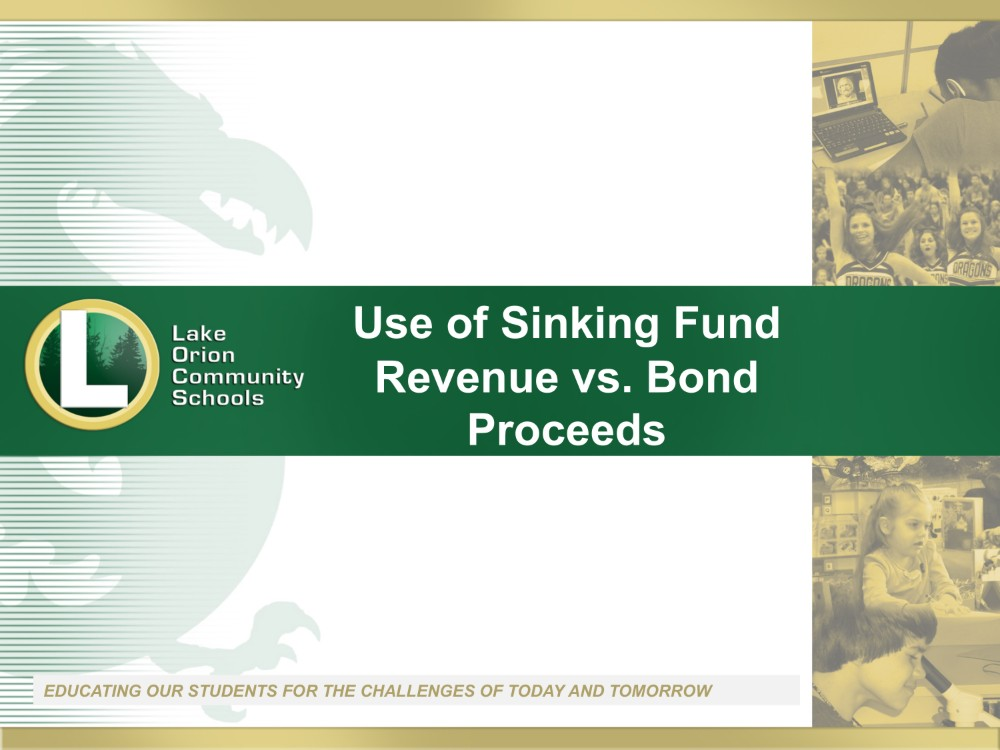 Bond Vs. Sinking Fund