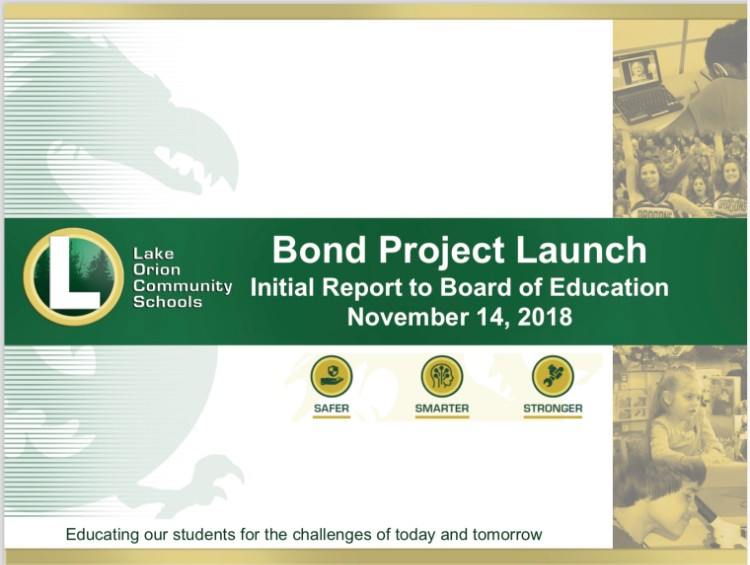 Bond Launch Presentation