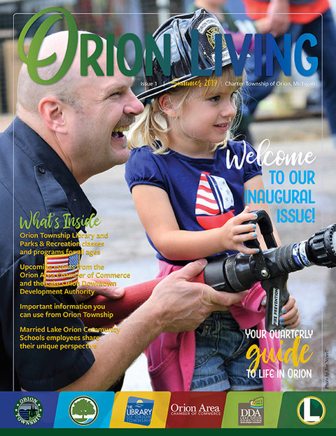 """Orion Living"" magazine features LOCS staff's passion for community"