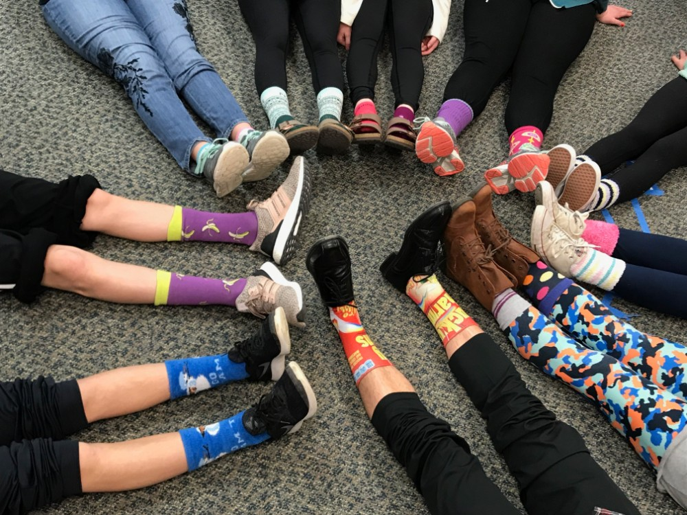 "Waldon, Oakview students to ""Rock Your Socks"" on Thursday for Down Syndrome Awareness"