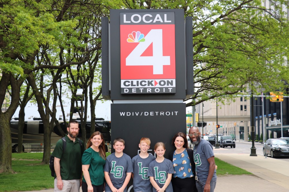 "LOCS Elementary STEM program featured on Channel 4's ""Live in the D"""