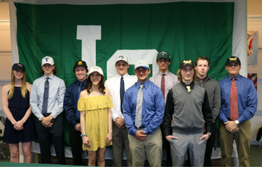 LOHS HAS 10 STUDENTS SIGN COLLEGE LETTERS-OF-INTENT