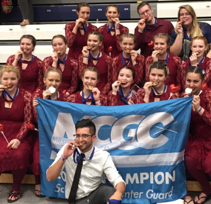 WINTER GUARD SHINES AT NATIONALS, REACHES FINALS FOR FIRST TIME