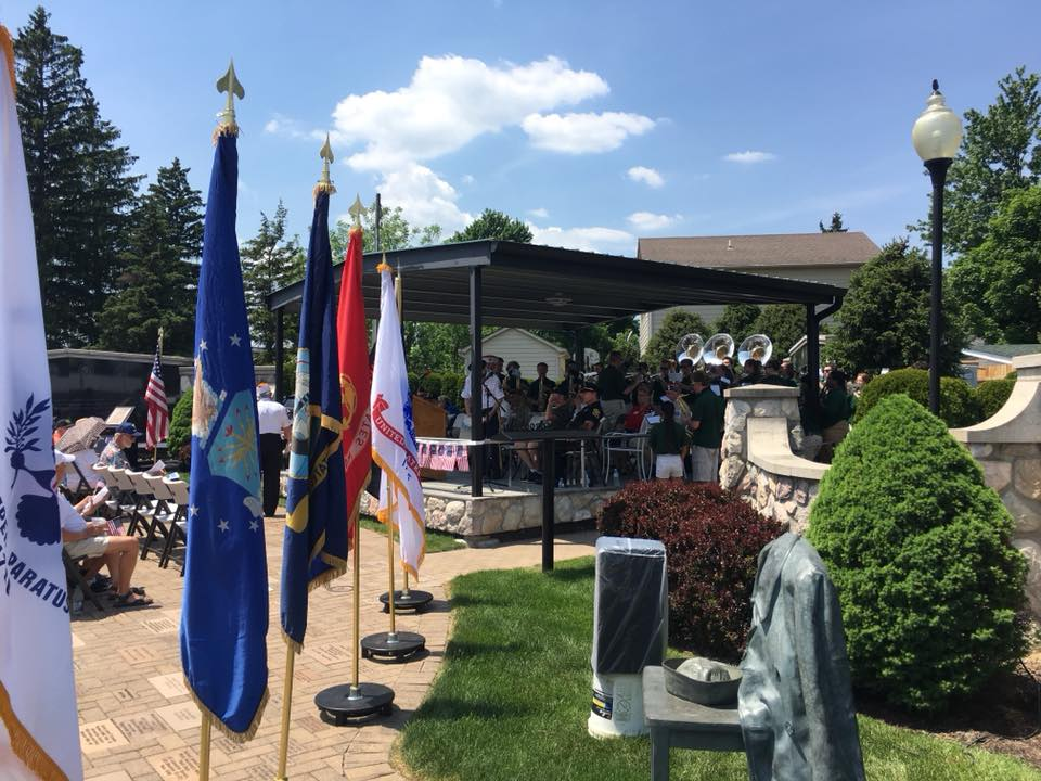 LOHS BAND HONORS MEMORIAL DAY