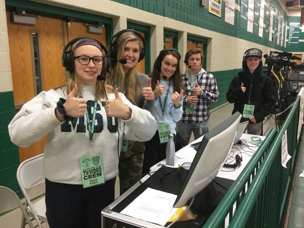 "LOHS Dragon Broadcasting named MHSAA ""Program of the Year"""