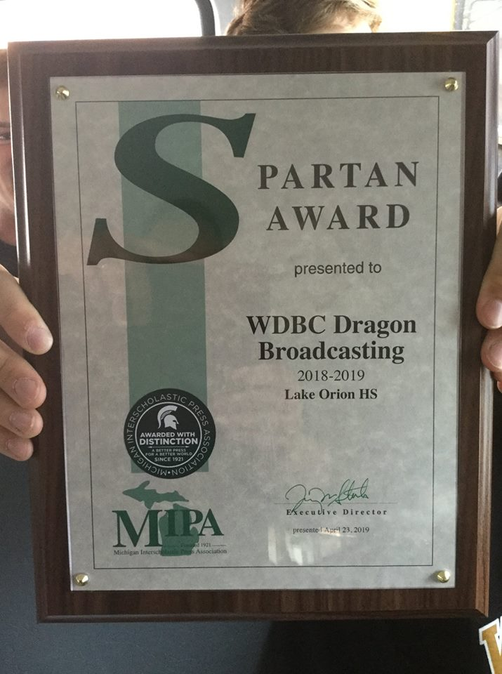 LOHS Broadcasting wins Spartan, other awards