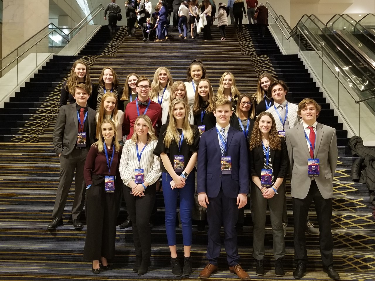 Two LOHS state champion DECA teams