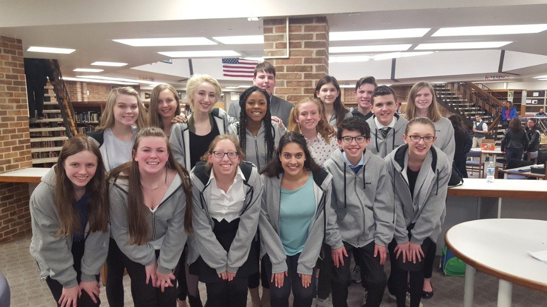 LOCS Forensics shines in regionals, 12 qualify for states