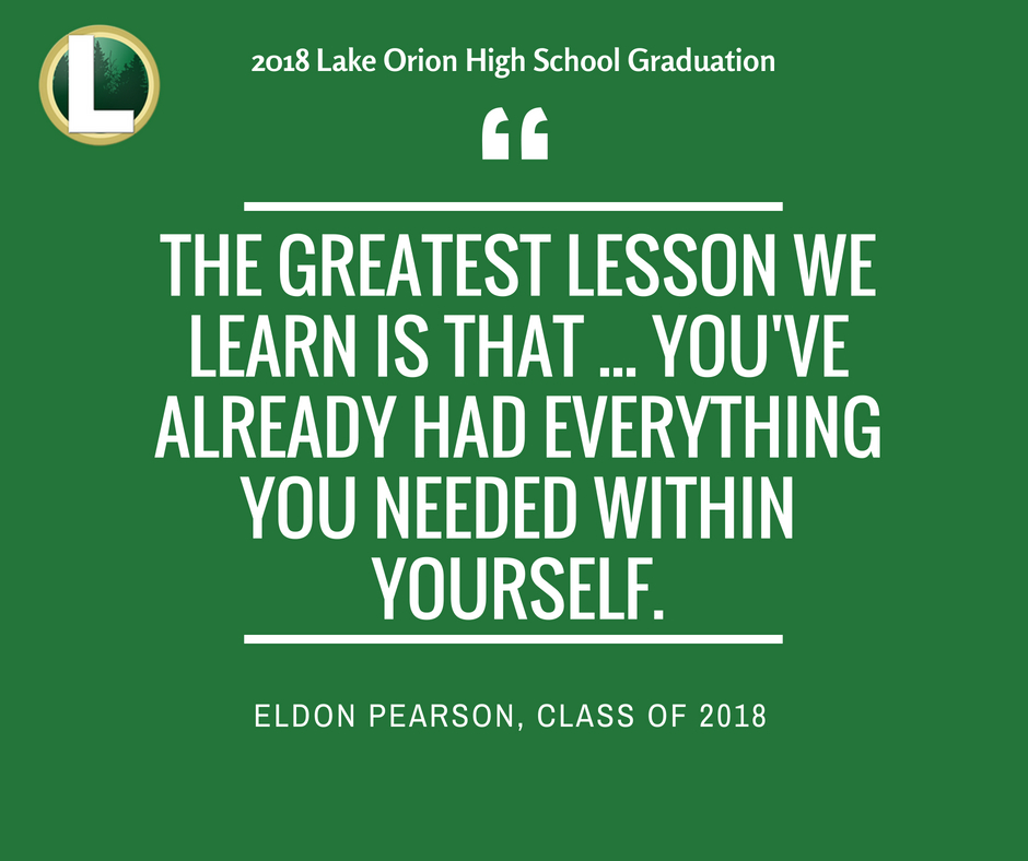 Quote from Eldon Pearson