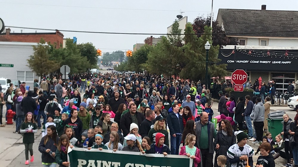 The 2018 LOCS Homecoming Parade unites the community