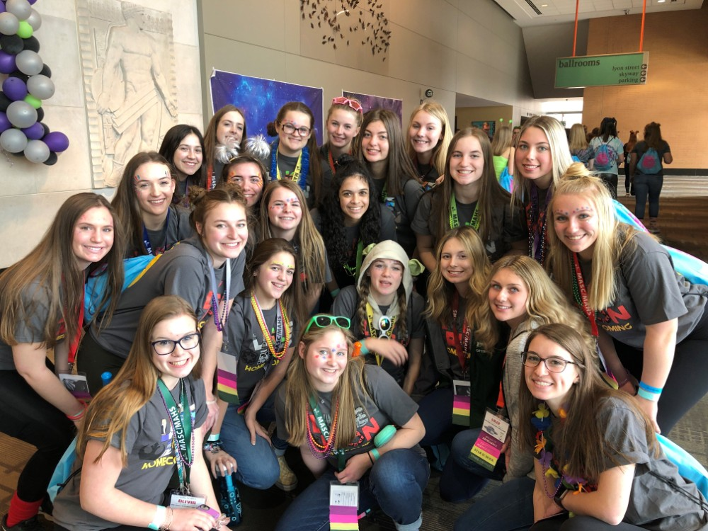 LOHS Leadership group wins awards at state conference