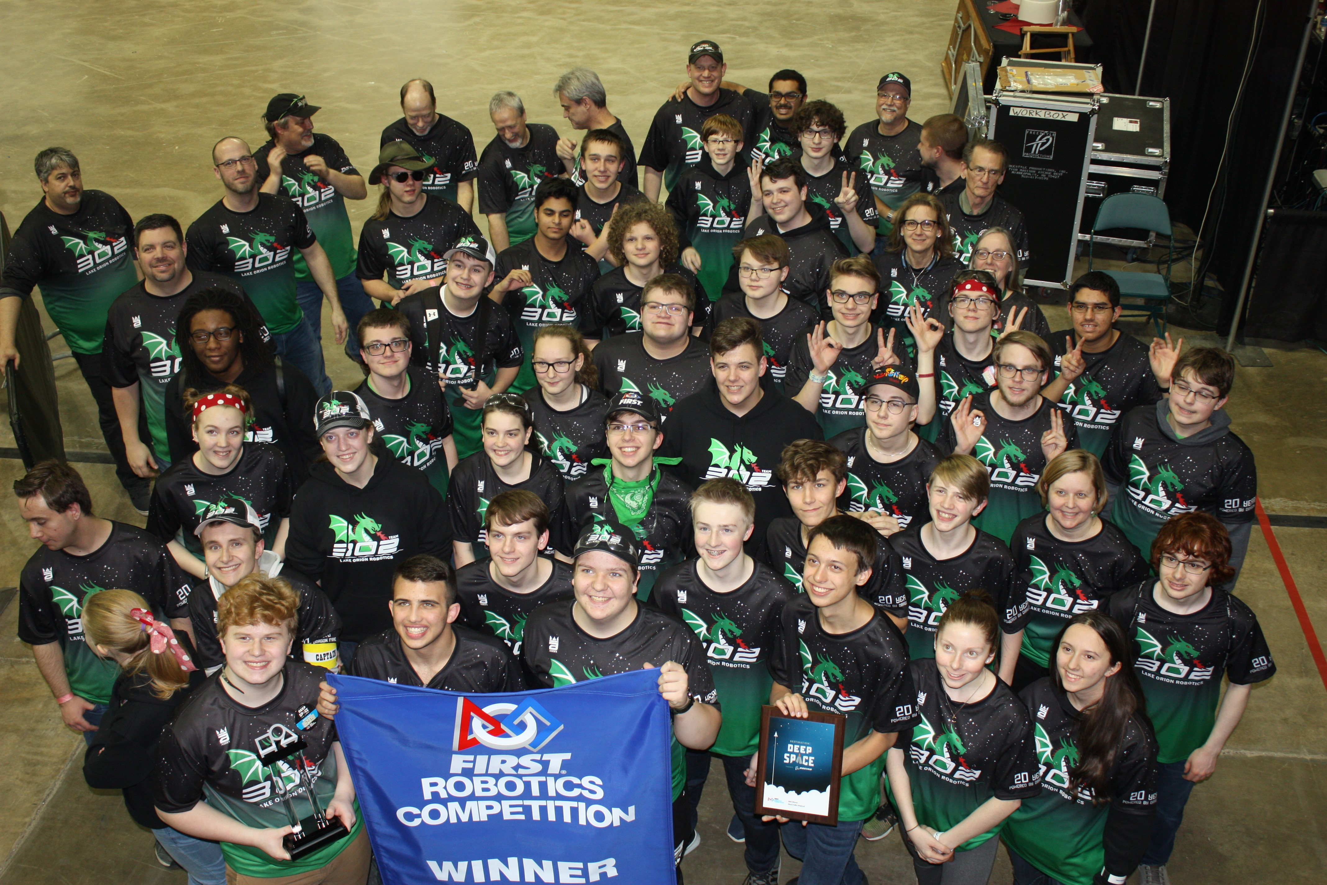 LOHS Robotics (First Team 302) wins Miami (Ohio) Valley Tournament