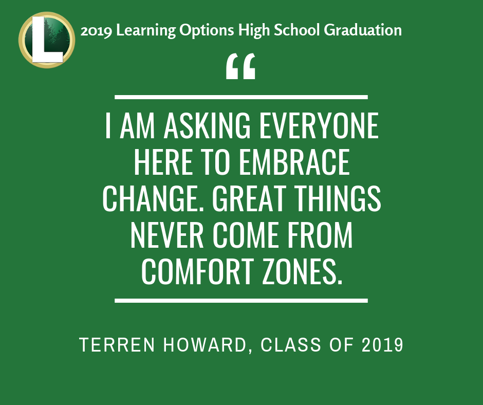 Learning Options Graduation Quote