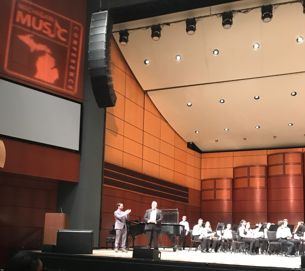 Scripps Cadet Band stands out at Michigan Music Conference in Grand Rapids