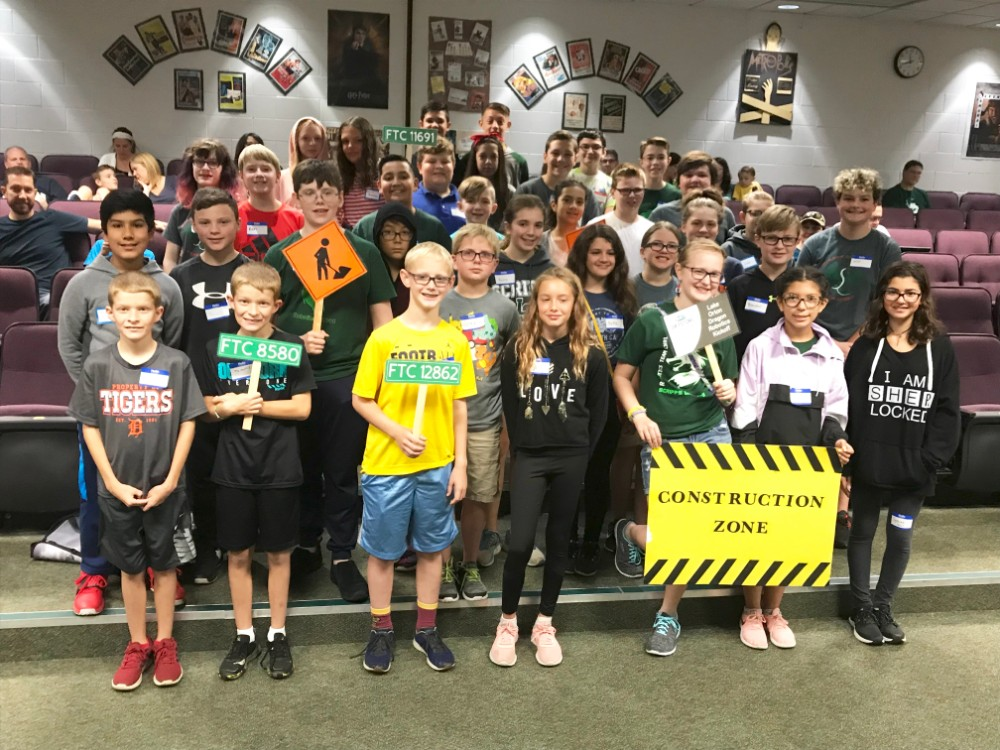 Middle School robotics kicks off season