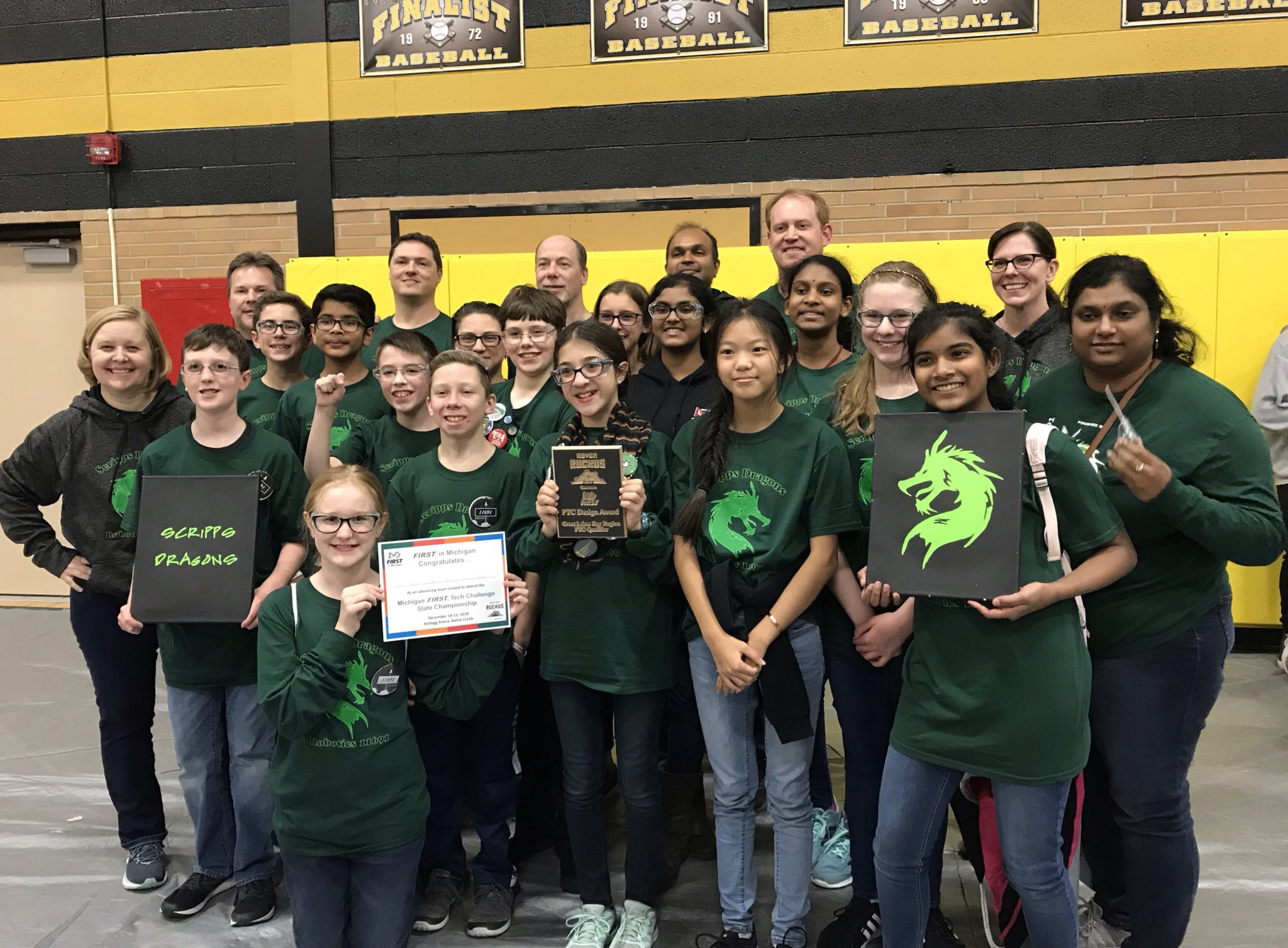 Waldon, Scripps robotics teams open the season in Midland