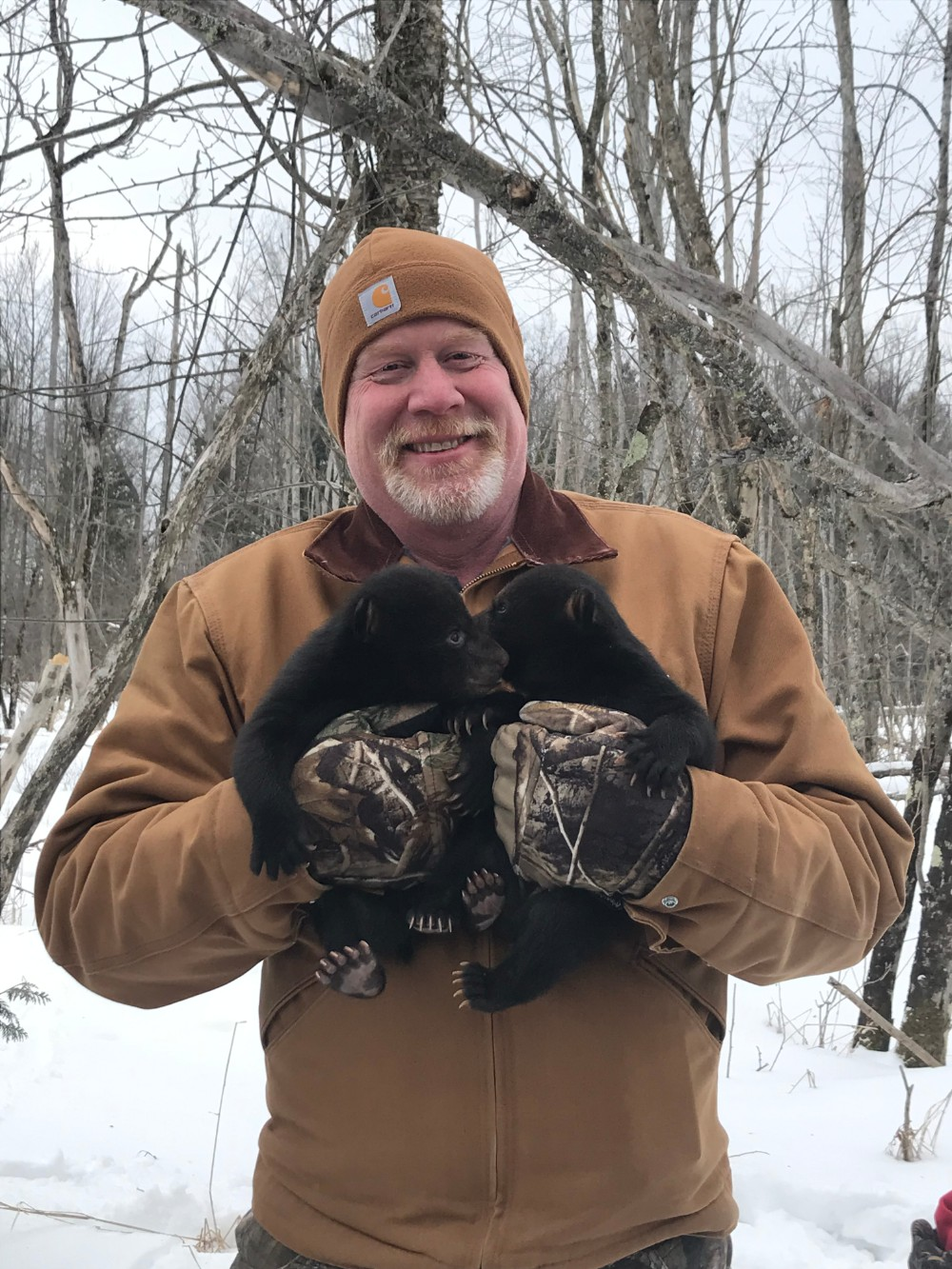 Waldon teacher holding cubs
