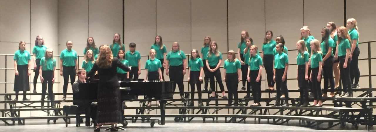 Waldon 7th and 8th Graders Shine at Choral Festival