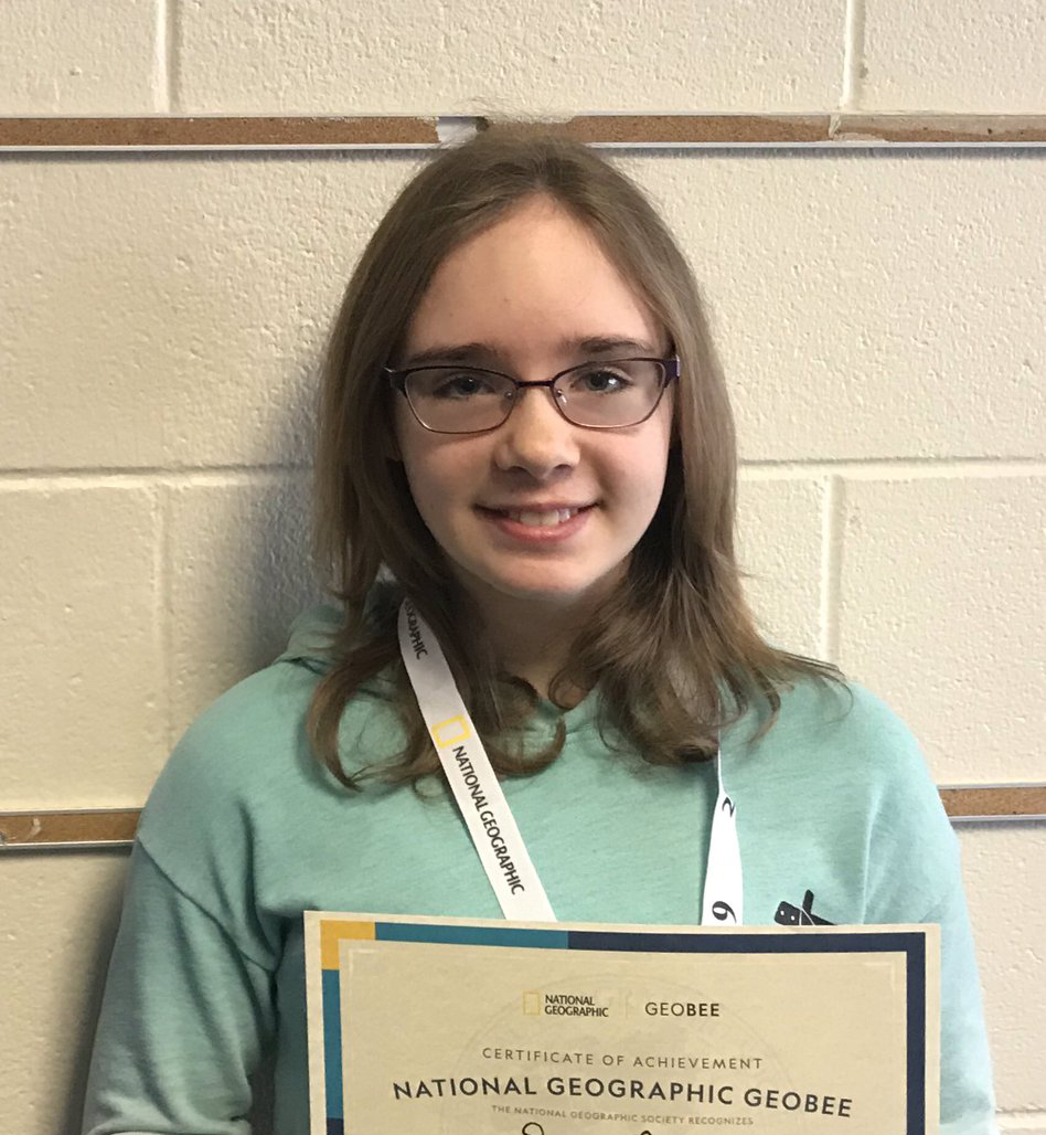 Waldon student moving on to the National Geography Bee