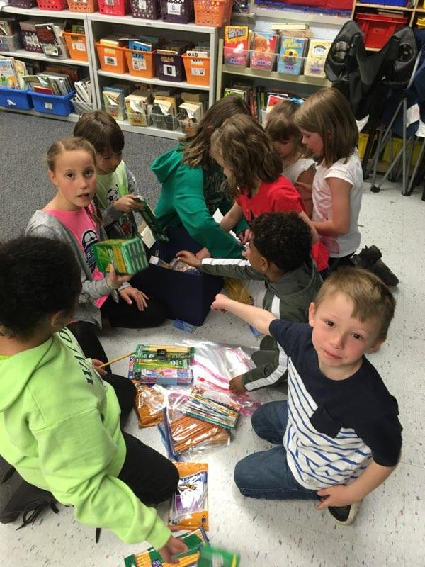 Webber kindergarteners write letters, raise money, save turtles