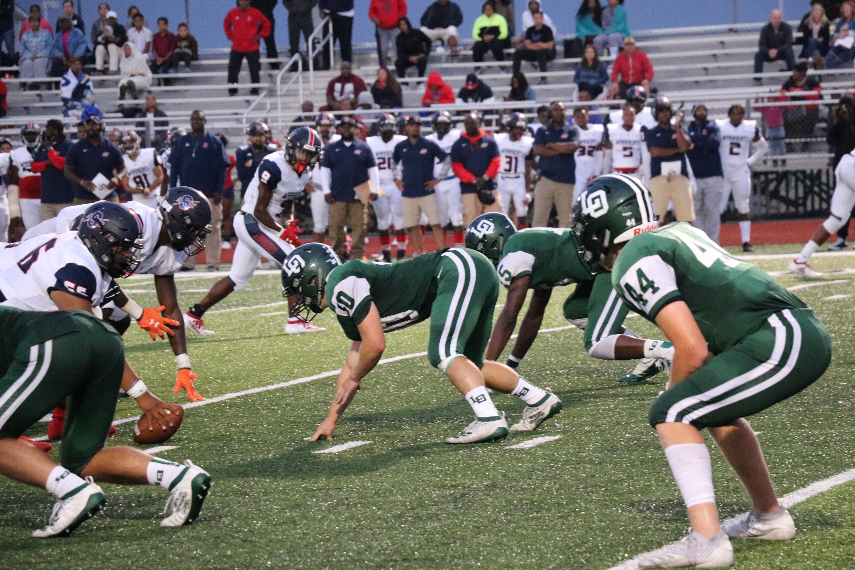 Dragons Football Beats Southfield in OAA Opener for Both Teams