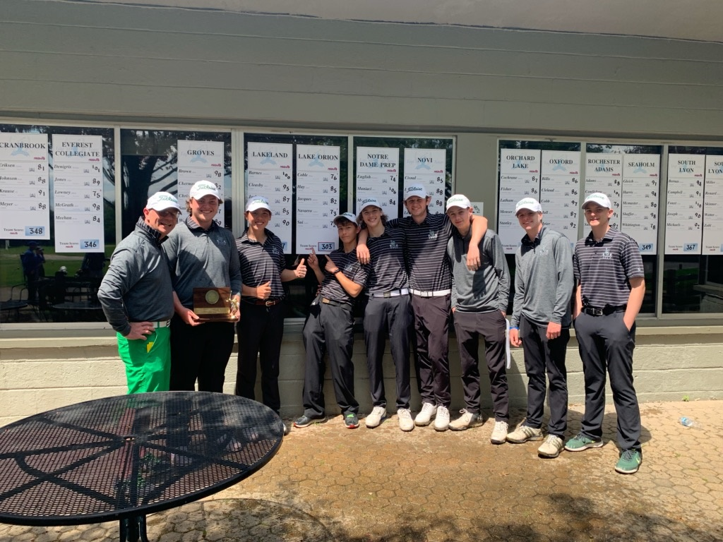Dragons Golf: 2019 Oakland County Champions