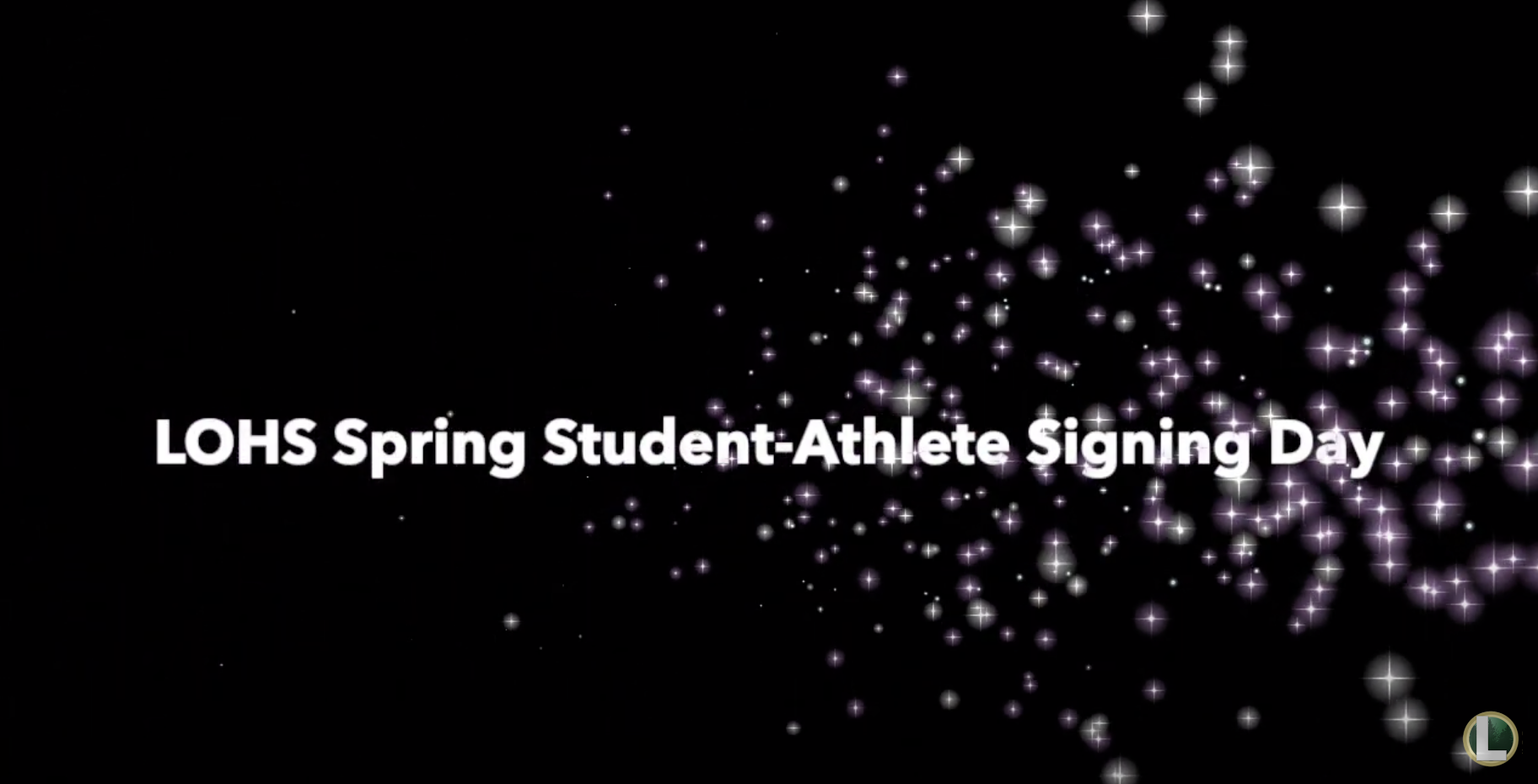 LOHS Spring Athletic Signing Period