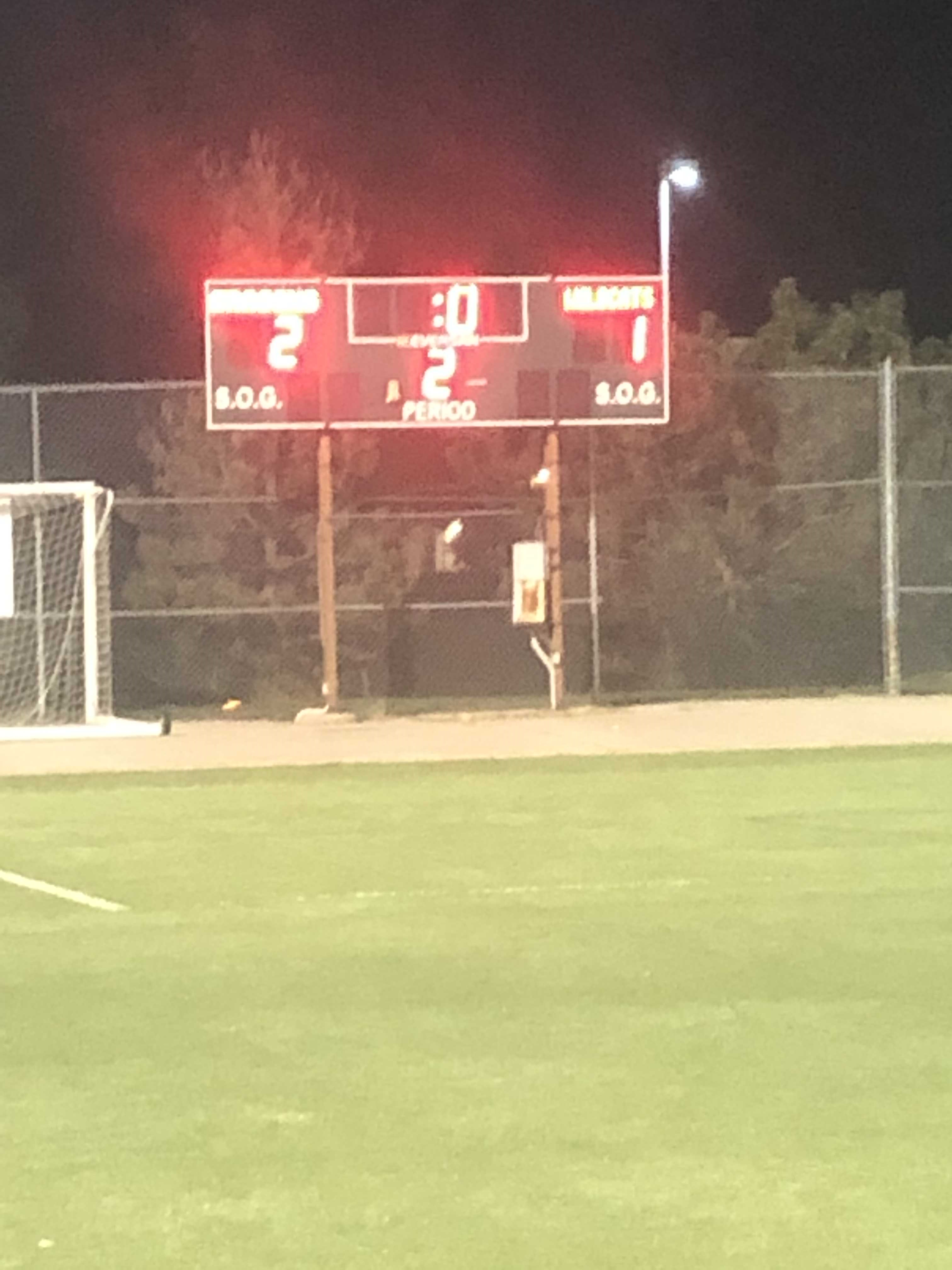 Dragons Soccer Defeats Oxford 2-1