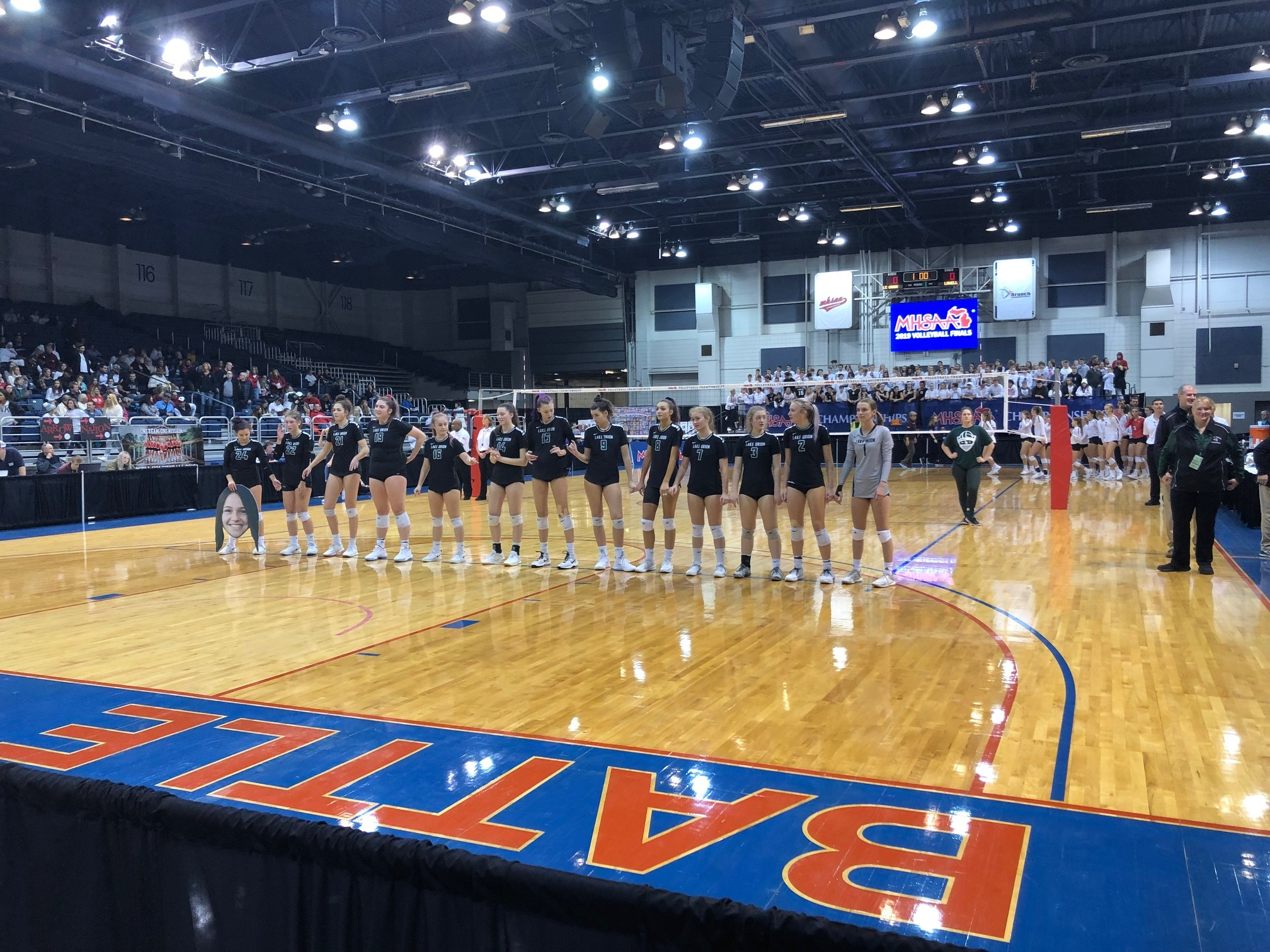 Dragons Volleyball Are MHSAA State Semi-Finalists