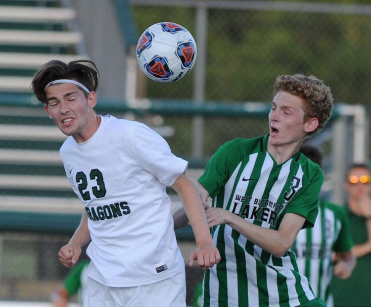 Dragons Soccer Defeats West Bloomfield