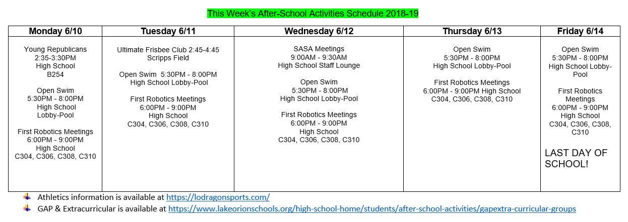 71de5b3cf6 GAP/Extra-Curricular Groups - Lake Orion Community Schools