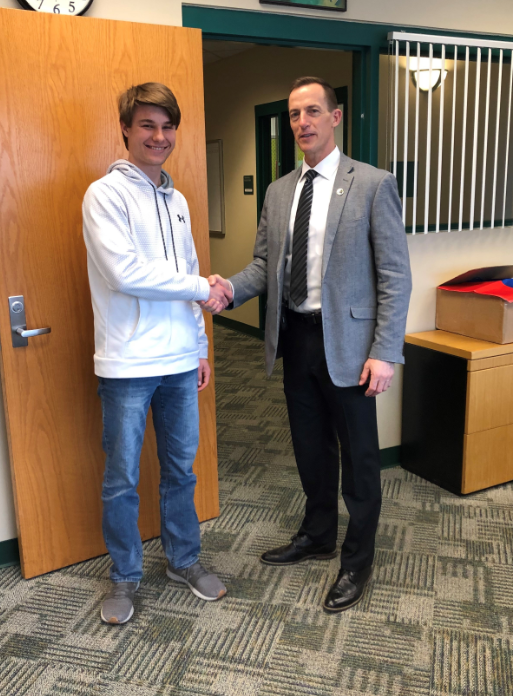 LOHS Student Adam Tisch Achieves Top ACT Score