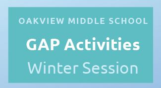 Oakview Winter GAP Programs