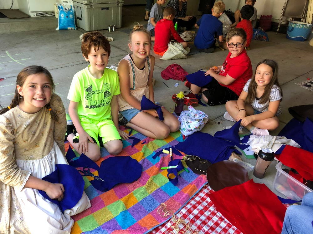 Paint Creek 4th Graders Experience Pioneer Day