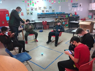 PTC Students Discover Spheros