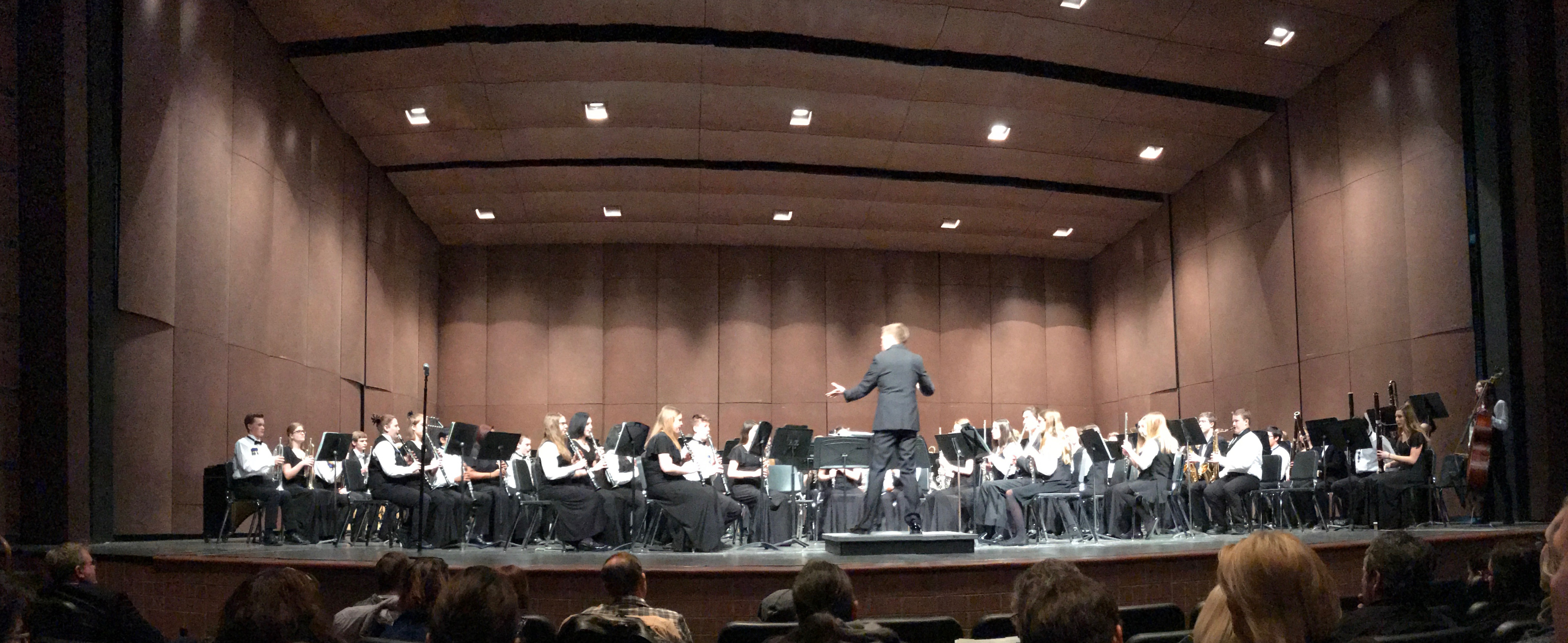Scripps Band at Symphonic Celebrations