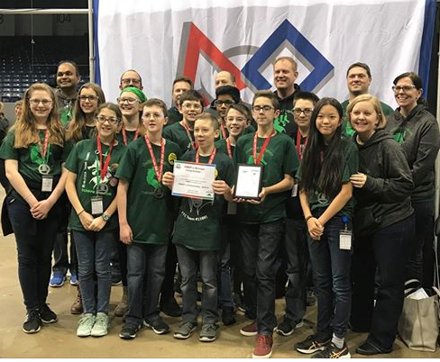 Scripps Robotics Going to World Competition