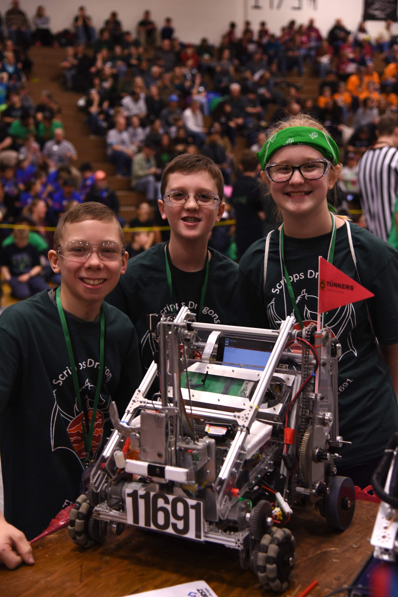 Scripps Robotics Rocks at Oxford Qualifier