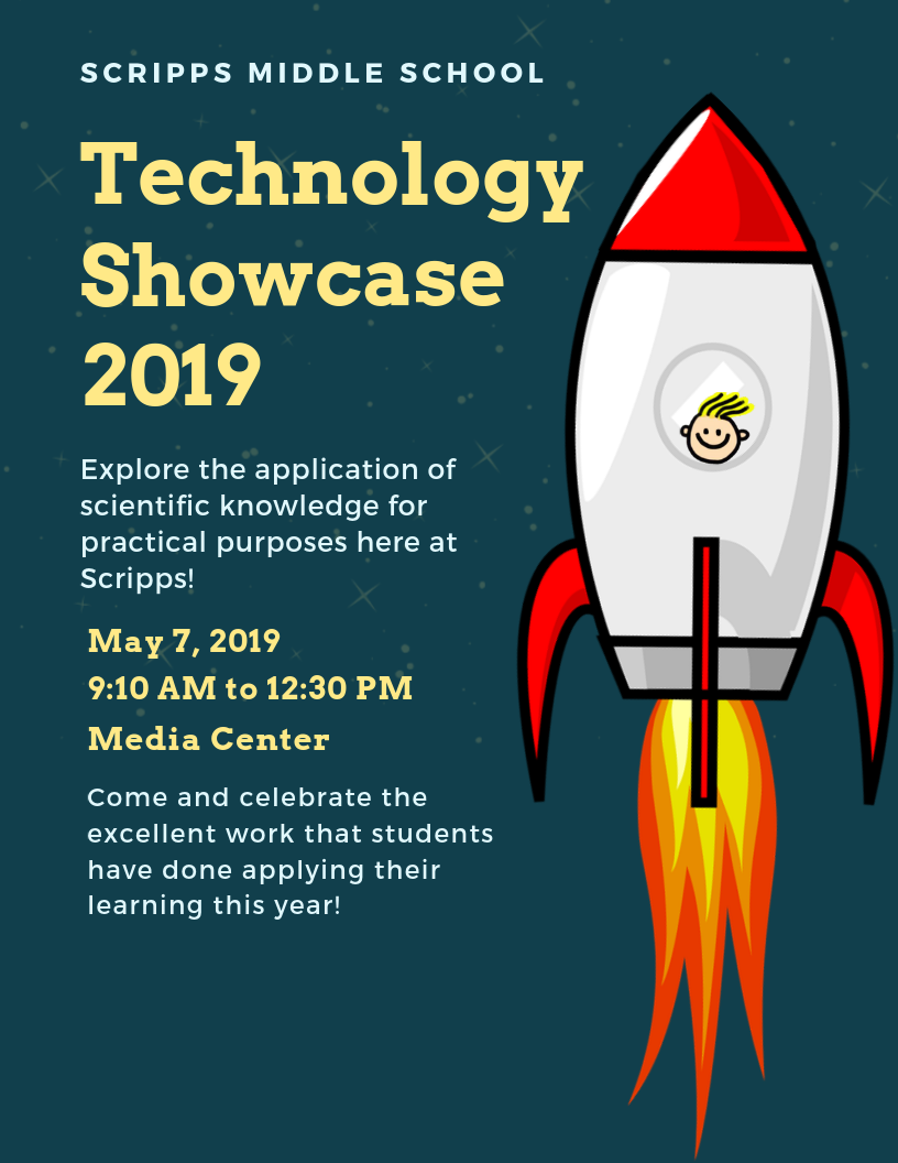 Scripps Technology Showcase May 7th 9:10 a.m. to 12:30 p.m.