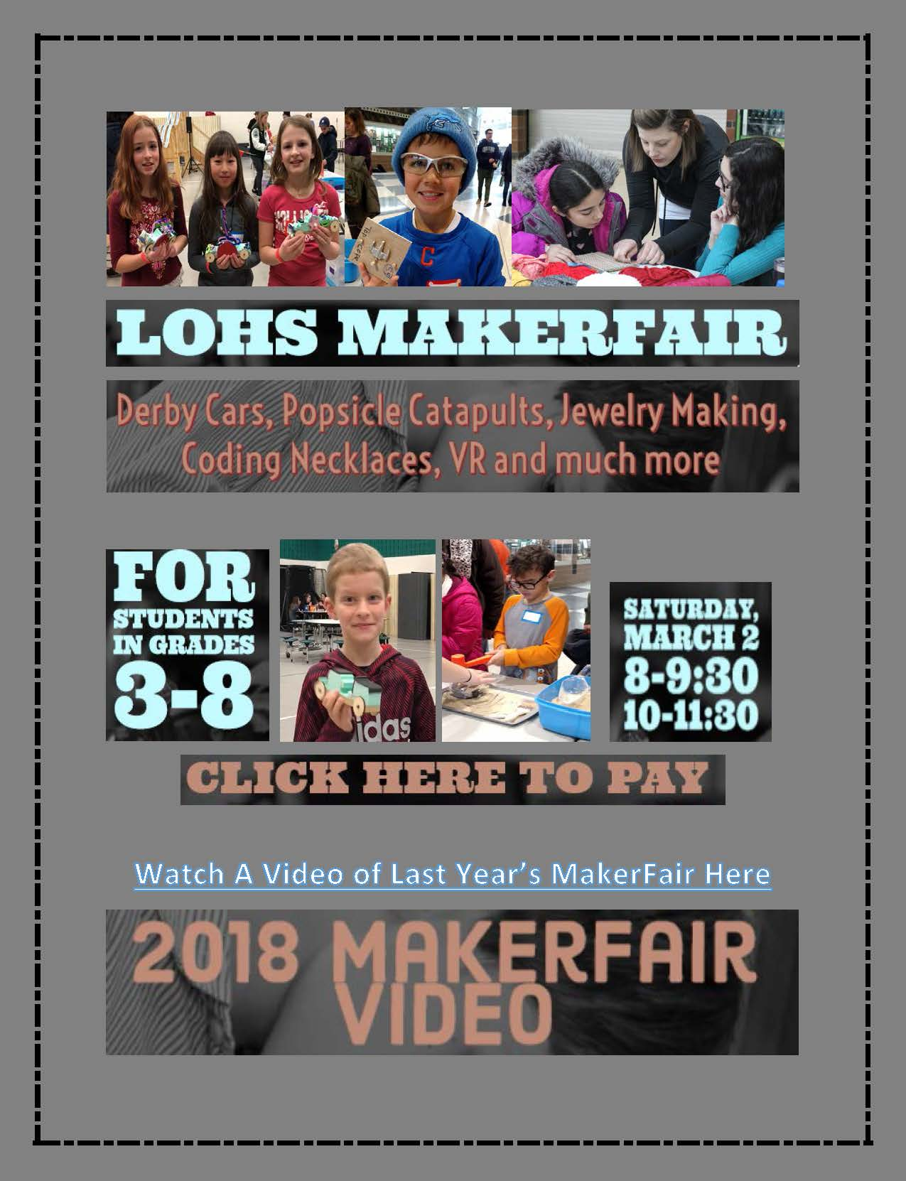 Makerfair March 2, 2019